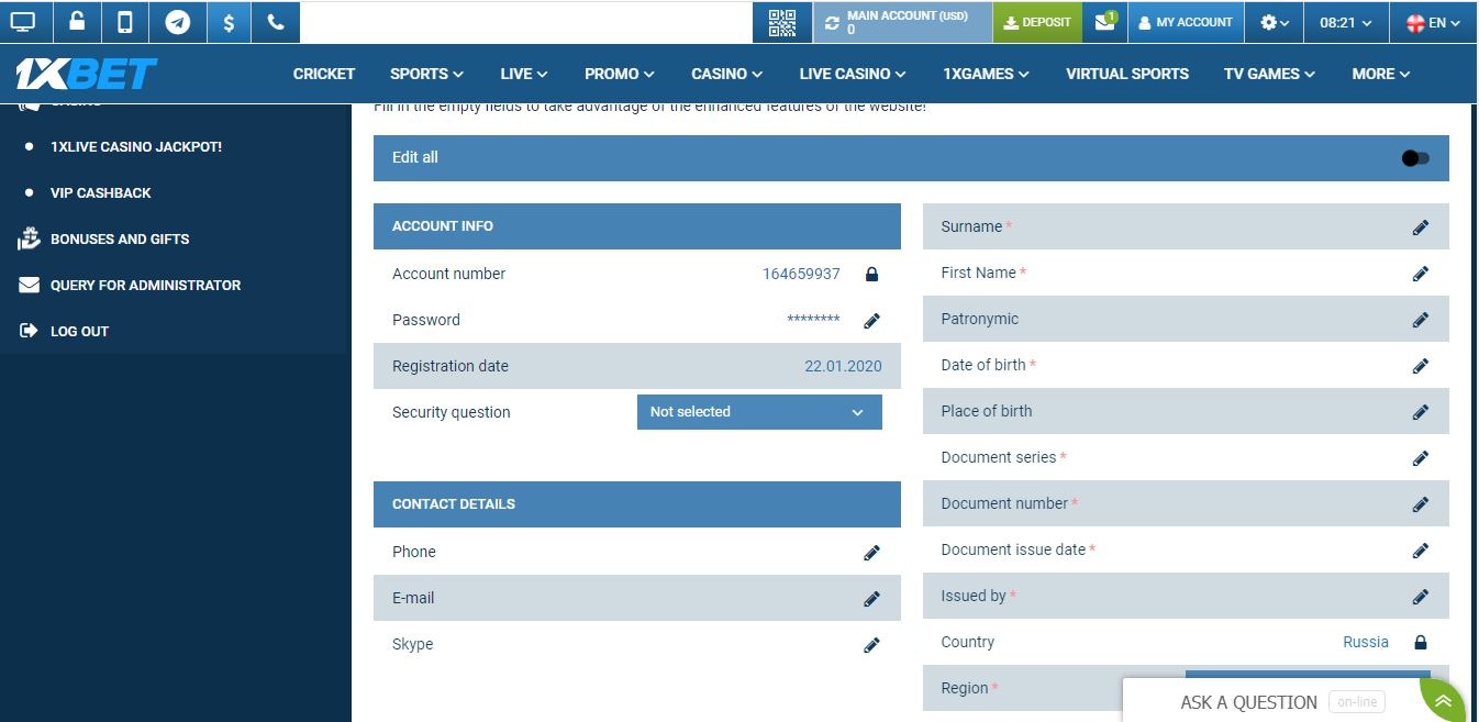 how to create 1xbet account and Place Bet on cricket