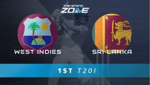 West Indies vs Sri Lanka 1st T20 Match Prediction