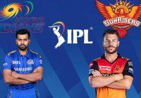 Mumbai Indians vs Sunrisers Hyderabad IPL T20 Match Prediction